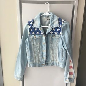 TopShop American jean jacket